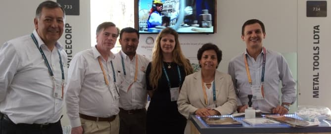 HighService Corp participated Perumin, September 21st to 25th, in Arequipa