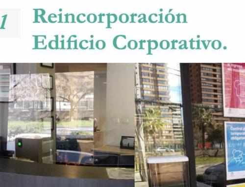 Reincorporación Edificio Corporativo